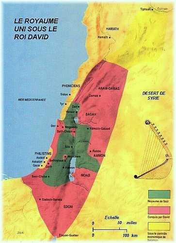 Une histoire abrégée de l`Ancien Testament – (avec images et cartes géographiques) 5